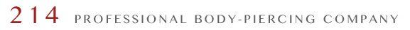 214Co. Professional Body Piercings